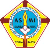 Lambang ASMI Santa Maria Yogyakarta